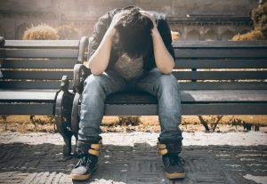 Alone depressed